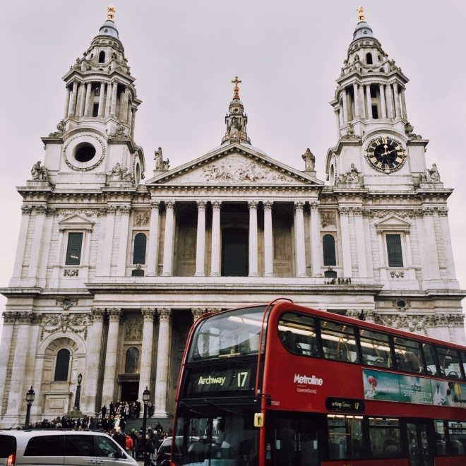 St. Paul's Cathedral was pretty amazing. Fun fact; my Late Great Uncle used to be the organist here.