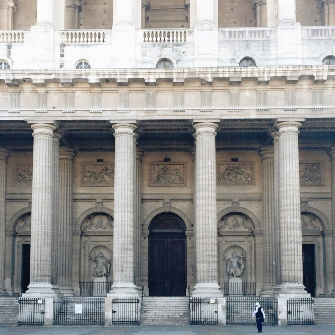 There are some buildings that just can't be taken in completely by a single photo. Saint Sulpice was one of them!