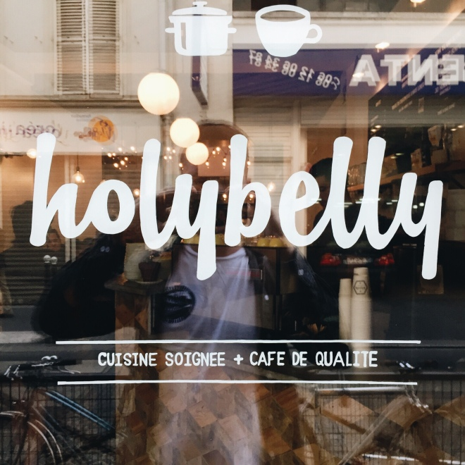Holybelly is like your favourite local coffee shop, only in Paris. In here I consumed Pancakes with bourbon butter, maple syrup and bacon. It's everything you're imagining and more.