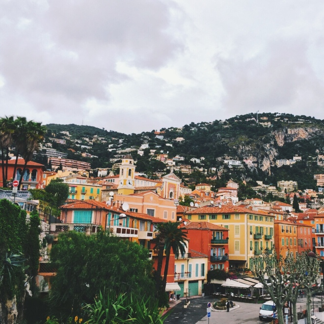 On the way back from Monaco, we made an impulsive stop when we saw the rain was clearing. Villefranche-sur-mer is a delightful village, and the perfect spot to grab a drink and relax.
