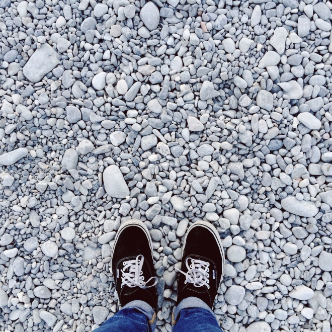 Rocks, rocks everywhere. Time for a token #fromwhereIstand photo.