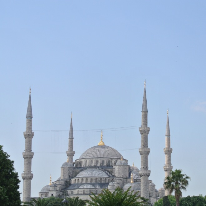 First stop, Blue Mosque. Completed in 1616, it's intriguing, ornate and it's ever so detailed.